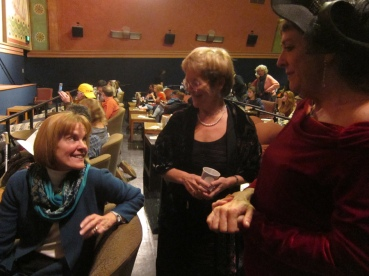 Jill Keimach and Ann-Lehman. Jill, a city community development director, did more than anyone else to preserve the Cerrito Theater as a theater.