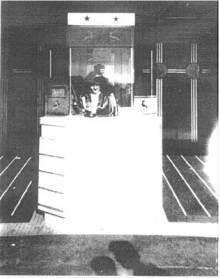 Cerrito Theater's booth in 1940