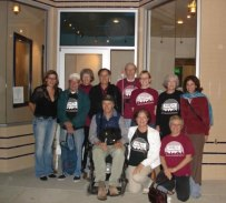 Steering committee of the Friends of the Cerrito Theater