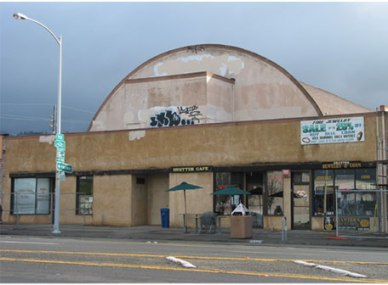 The Cerrito Theater in 2002