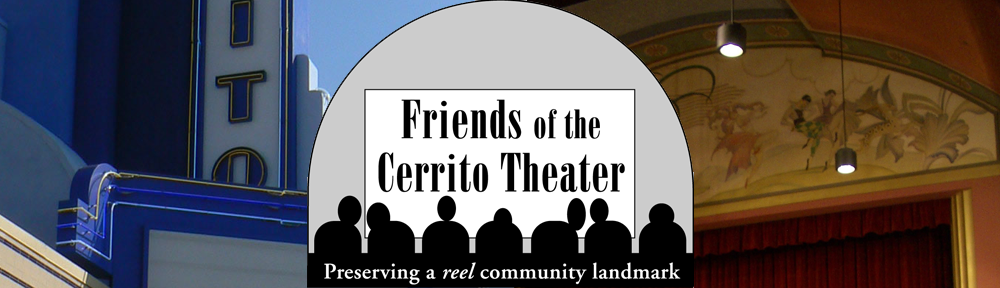 Friends of the Cerrito Theater in El Cerrito, California
