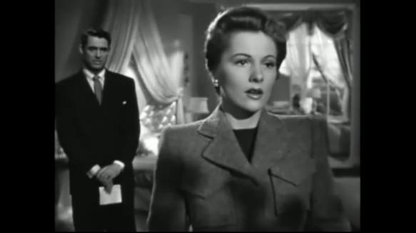 Joan Fontaine and Cary Grant in Suspicion (1941)